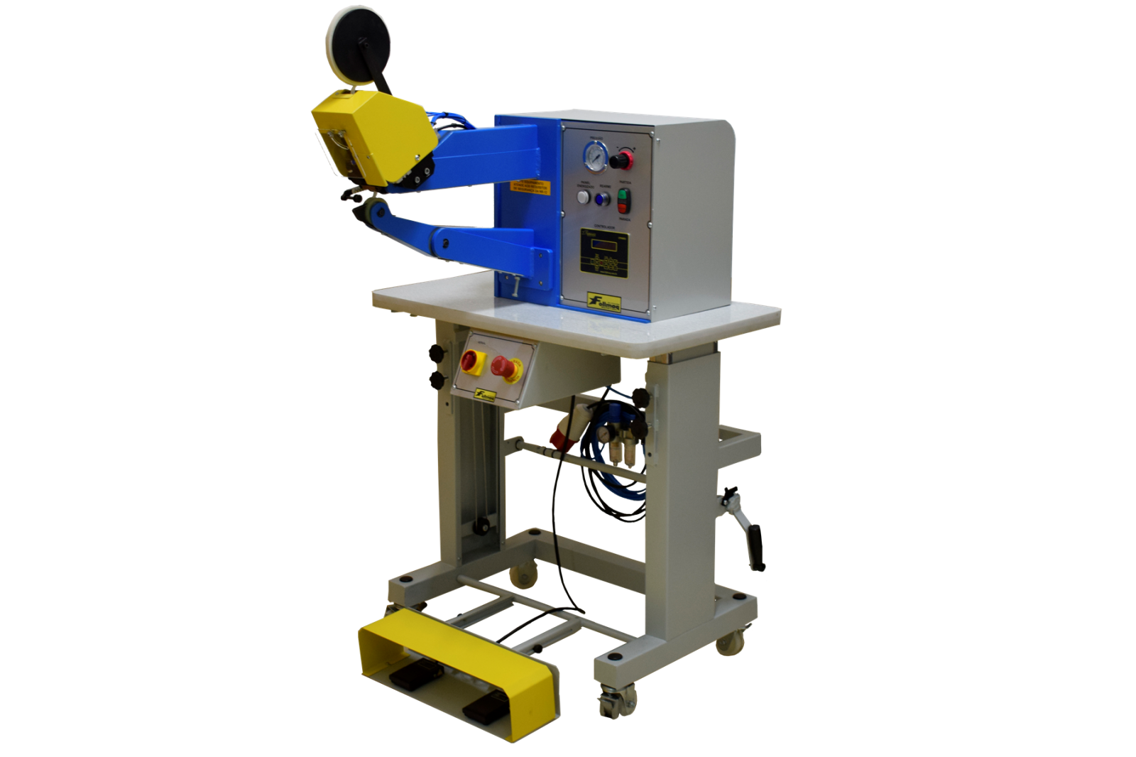 Máquina Passar fita com corte Automático ME-049