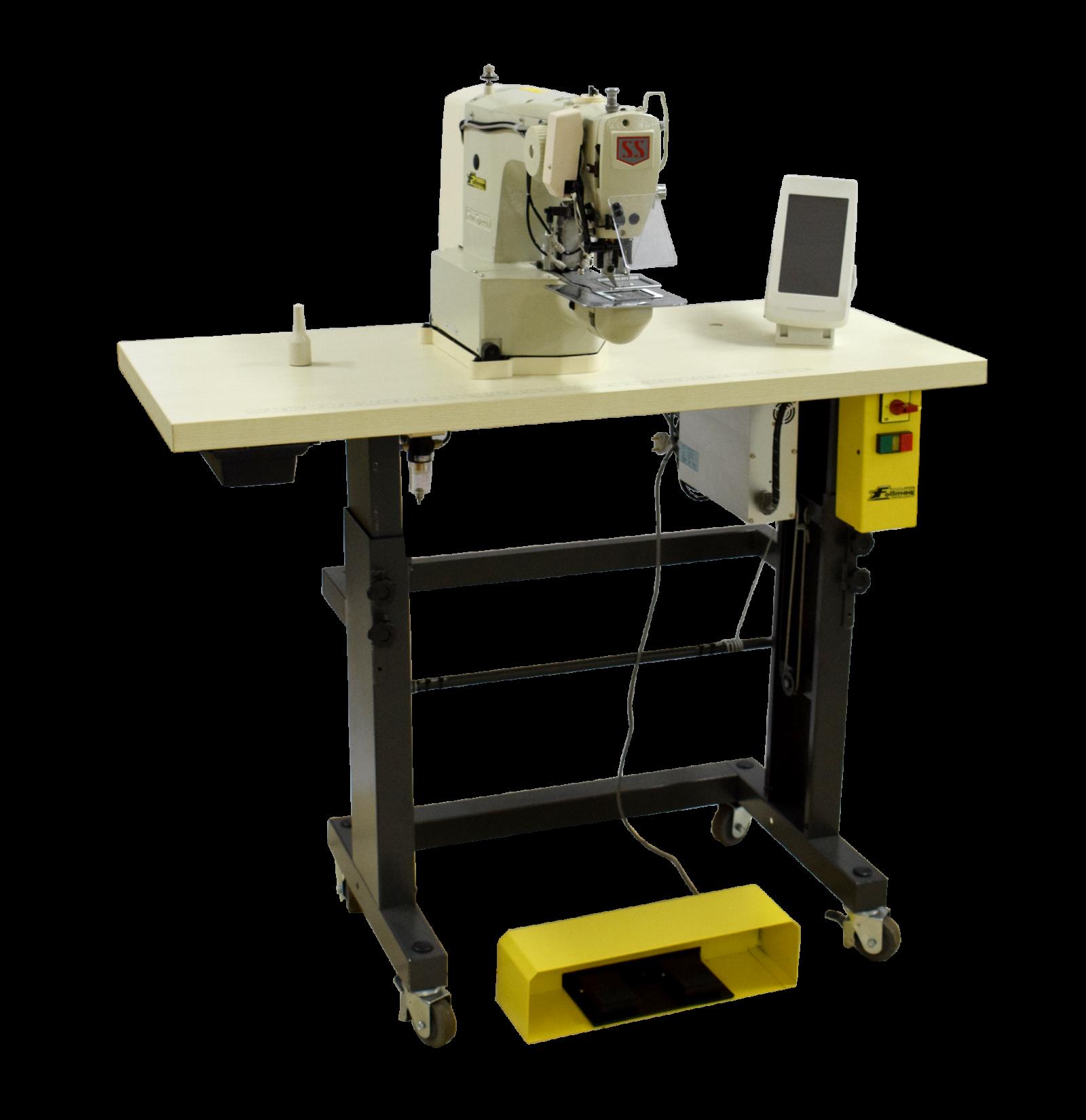 Máquina costura programada filigrana